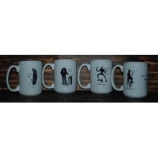 All four Mugs