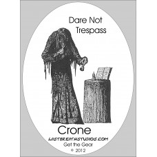 Crone Sticker